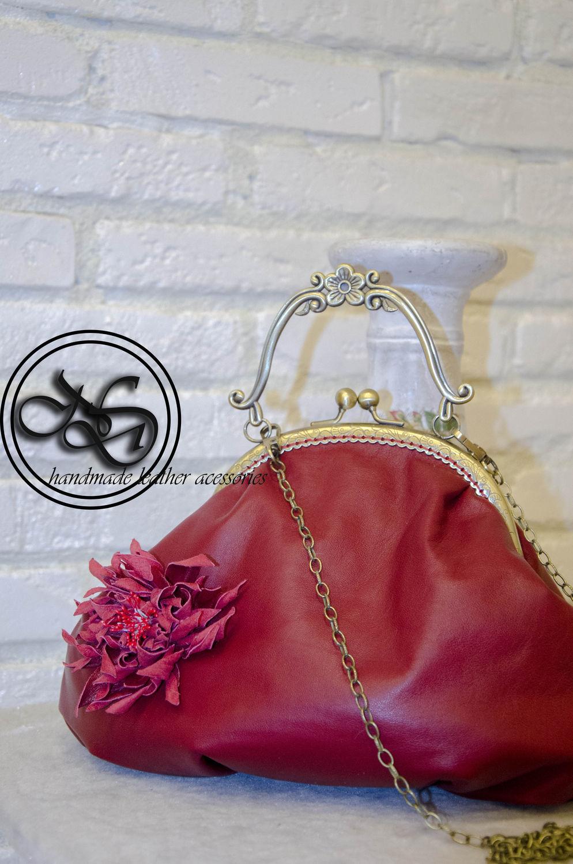 03d4ce9db389 Женские сумки ручной работы. Ярмарка Мастеров - ручная работа. Купить Сумка  из кожи на ...