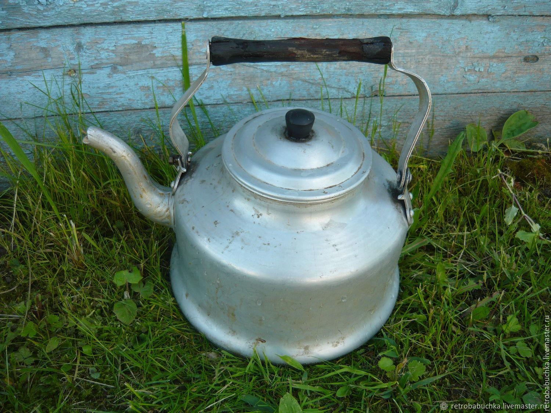 Фото чайника советских времен