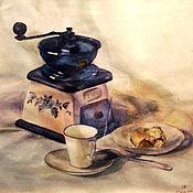 Картины и панно ручной работы. Ярмарка Мастеров - ручная работа Натюрморт с мельничкой. Handmade.