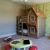 Для дома и интерьера ручной работы. Ярмарка Мастеров - ручная работа № 8 Сказочный домик-кроватка. Handmade.