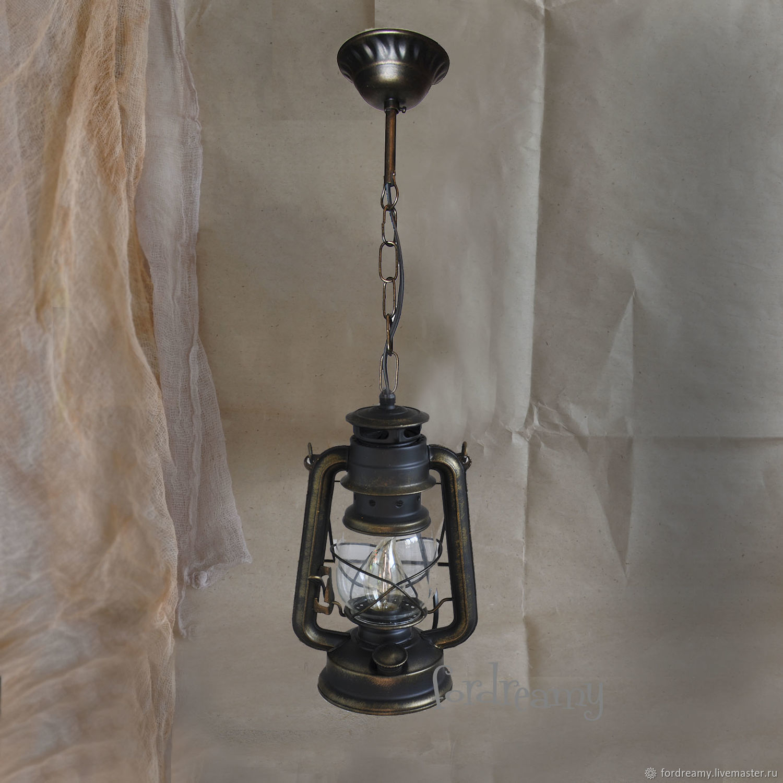 Lamps handmade. Livemaster - handmade. Buy Chandelier ceiling pendant lamp Kerosene lamp electric.Chandelier, kerosene stove