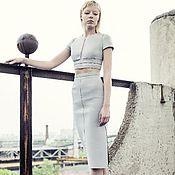 Одежда ручной работы. Ярмарка Мастеров - ручная работа Комплект юбка с топом. Handmade.