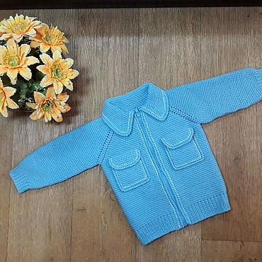 """Одежда ручной работы. Ярмарка Мастеров - ручная работа Джемпер для малыша """"Небесная мечта"""". Handmade."""