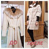 Одежда handmade. Livemaster - original item Cut mink coat. Handmade.