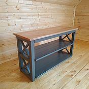 Для дома и интерьера handmade. Livemaster - original item Shoe box bench banquette Bergen grey oak. Handmade.