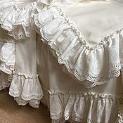 handmade. Livemaster - original item Satin bed linen