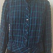 Одежда ручной работы. Ярмарка Мастеров - ручная работа 342: летний пиджак женский, блузон летний, пиджак из хлопка. Handmade.