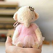 Куклы и игрушки ручной работы. Ярмарка Мастеров - ручная работа Друзья тедди.Слоник Мо). Handmade.