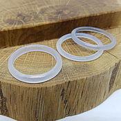 Украшения handmade. Livemaster - original item Thin ring chalcedony 18.5 p.. Handmade.