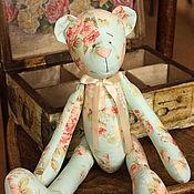Куклы и игрушки ручной работы. Ярмарка Мастеров - ручная работа Мишка в розочку. Handmade.