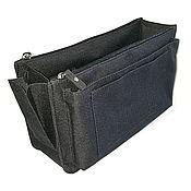 Сумки и аксессуары handmade. Livemaster - original item Organizer 6 textile black. Handmade.