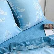 Для дома и интерьера handmade. Livemaster - original item Palma trees bedding. Handmade.