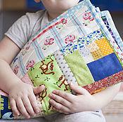 Для дома и интерьера ручной работы. Ярмарка Мастеров - ручная работа Игровой детский коврик Веселые картинки лоскутный печворк. Handmade.