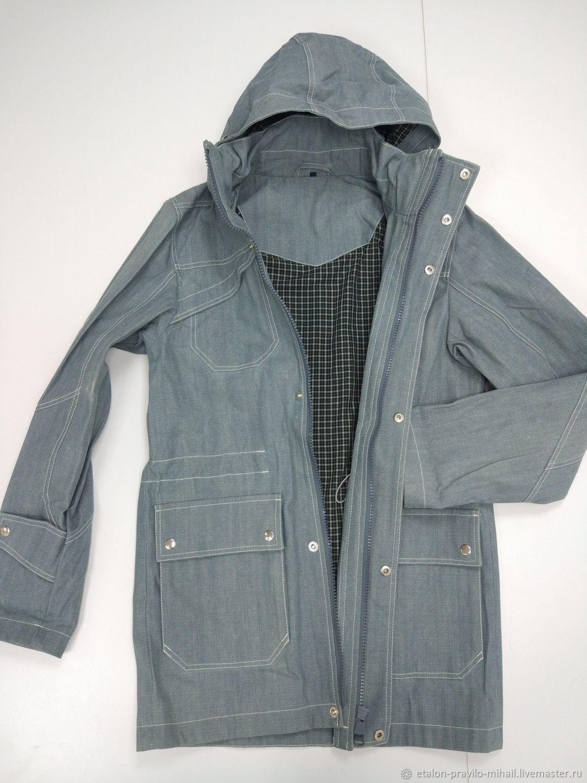 Мужская куртка демисезон джинсовая, Верхняя одежда мужская, Москва,  Фото №1