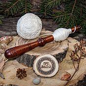 Материалы для творчества handmade. Livemaster - original item Klubochnitsa winding winder wooden for yarn Siberian Cedar KL2. Handmade.