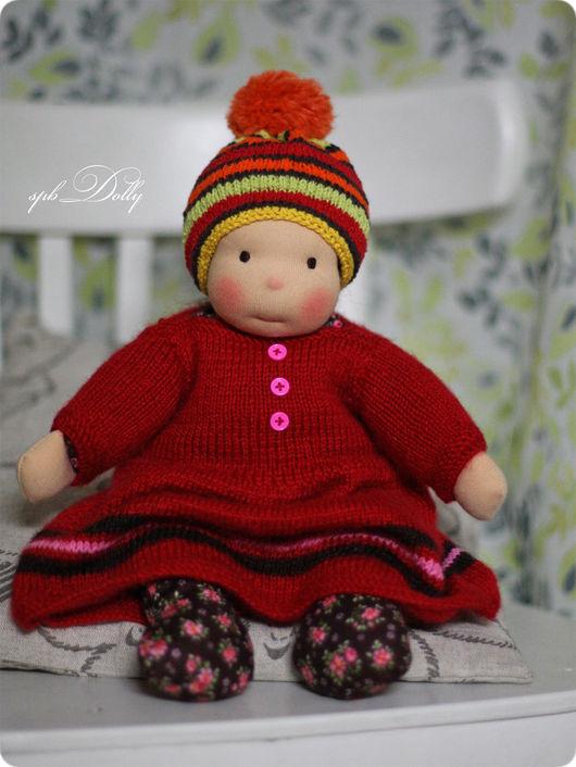 Вальдорфская игрушка ручной работы. Ярмарка Мастеров - ручная работа. Купить Мика - игровая   кукла ручной работы в вальдорфском стиле. Handmade.