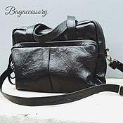 Сумки и аксессуары handmade. Livemaster - original item Sports bag made of genuine leather. Handmade.