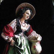 """Куклы и игрушки ручной работы. Ярмарка Мастеров - ручная работа кукла """"РОЗАЛИНДА"""". Handmade."""