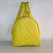 Сумки и аксессуары handmade. Livemaster - original item Backpack leather 141. Handmade.