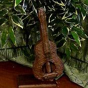 Сувениры и подарки ручной работы. Ярмарка Мастеров - ручная работа Денежное  дерево-гитара. Handmade.