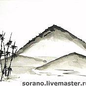 Картины и панно ручной работы. Ярмарка Мастеров - ручная работа Гора Фудзияма. Handmade.