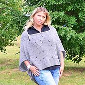 Одежда handmade. Livemaster - original item Women`s oversize jacket, tunic, Cape