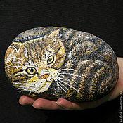 Сувениры и подарки ручной работы. Ярмарка Мастеров - ручная работа Очень ручной котенок. Handmade.