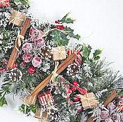"""Подарки к праздникам ручной работы. Ярмарка Мастеров - ручная работа Рождественская гирлянда """"Лондон"""". Handmade."""