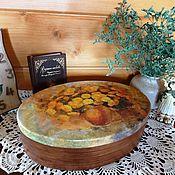 Для дома и интерьера ручной работы. Ярмарка Мастеров - ручная работа Одуваны... Шкатулка большая овальная. Handmade.
