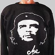 Одежда ручной работы. Ярмарка Мастеров - ручная работа Тату-свитер -  Че Гевара (вариант 1). Handmade.