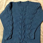 Одежда ручной работы. Ярмарка Мастеров - ручная работа кофта вязанная женская. Handmade.
