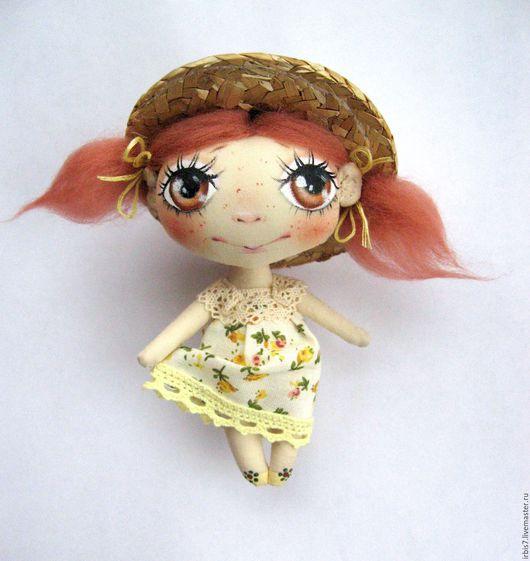 Коллекционные куклы ручной работы. Ярмарка Мастеров - ручная работа. Купить Рыжее настроение. Handmade. Рыжий, Рыжая, рыжая девочка