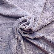 Материалы для творчества ручной работы. Ярмарка Мастеров - ручная работа Плюш Светлая сирень. Handmade.