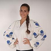 Блуза бохо вышитая женская, этно стиль  Vita Kin,Bohemia