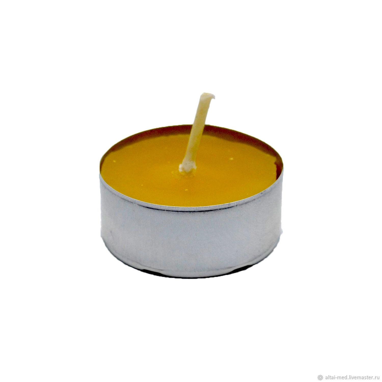 Свечи ручной работы. Ярмарка Мастеров - ручная работа. Купить Свеча из вощины в гильзе. Handmade. Свеча, Воск натуральный
