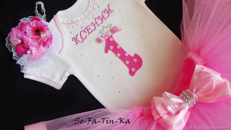 платье первый день рождения