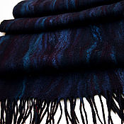 """Палантины ручной работы. Ярмарка Мастеров - ручная работа Валяный шарф  """"Ежевика"""". Handmade."""