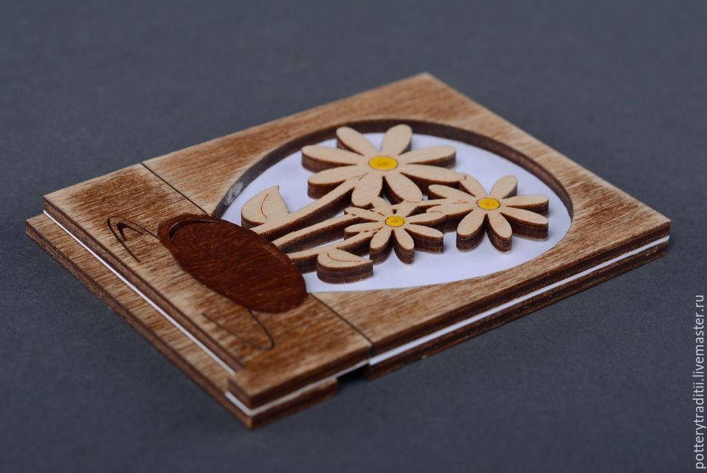 Открытки из дерева ручной работы на заказ, изготовление своими руками