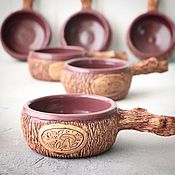 Посуда handmade. Livemaster - original item Ramekins for Julien lesovichok. Handmade.
