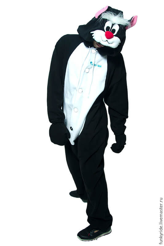 Costume kigurumi cat Selvester FUNKY SYLVESTER KIGU, Cosplay costumes, Magnitogorsk,  Фото №1