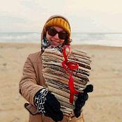 Подарки к праздникам handmade. Livemaster - original item Driftwood Valentines Wooden hearts. Handmade.