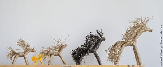 Народные куклы ручной работы. Ярмарка Мастеров - ручная работа. Купить ЗеброЛошади. Handmade. Игрушка ручной работы, традиционная кукла