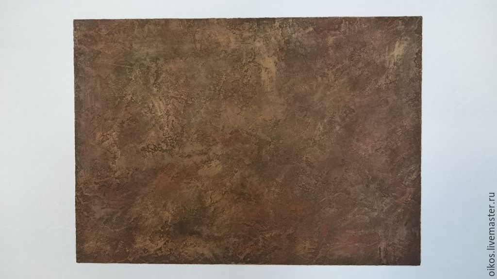 The decor of the wall surface on the basis of textured plaster, Decor, St. Petersburg,  Фото №1