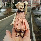 Куклы и игрушки ручной работы. Ярмарка Мастеров - ручная работа Деревянная кукла малышка Марта. Handmade.