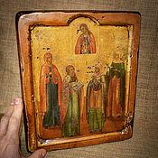 Картины и панно handmade. Livemaster - original item The icon of the mother of God