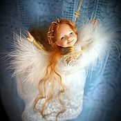 Куклы и игрушки ручной работы. Ярмарка Мастеров - ручная работа Ангел Радости. Handmade.