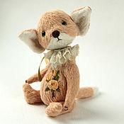 Куклы и игрушки ручной работы. Ярмарка Мастеров - ручная работа Тедди Лис Фенёк Нежный. Handmade.