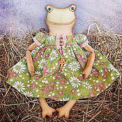 Куклы и игрушки ручной работы. Ярмарка Мастеров - ручная работа Лягушка Агата. Handmade.