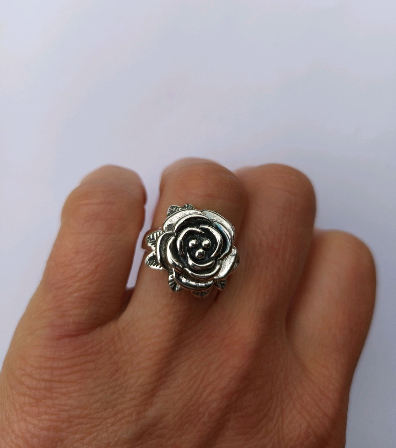 Ring rose Silver 925, Rings, Turin,  Фото №1