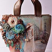 Сумки и аксессуары ручной работы. Ярмарка Мастеров - ручная работа Сумка Моя любовь живет в Париже. Handmade.